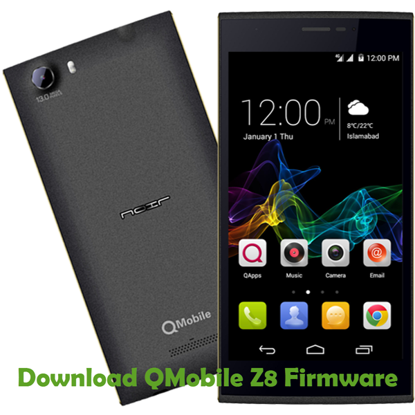 Download QMobile Z8 Firmware