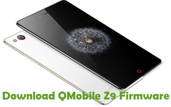 Download QMobile Z9 Firmware