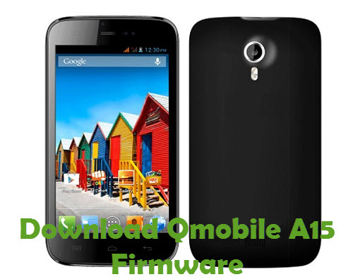 Download Qmobile A15 Firmware