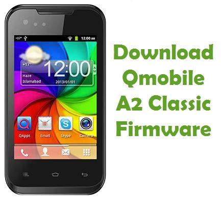 Download Qmobile A2 Classic Firmware