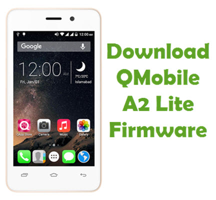 Download Qmobile A2 lite Firmware