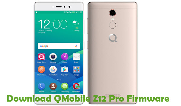 Download Qmobile Z12 Pro Firmware