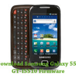 Samsung Galaxy 551 GT-I5510 Firmware