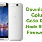 Gplus G650 Plus Firmware