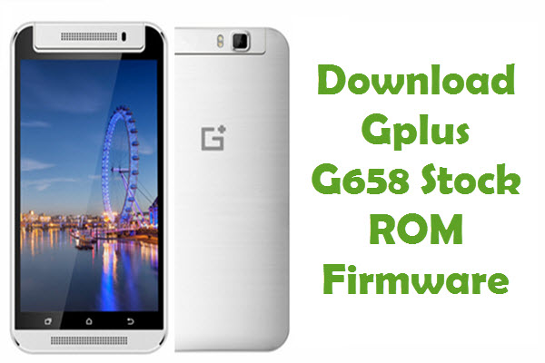 Gplus G658 Firmware