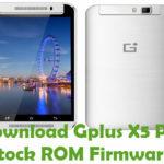 Gplus X5 Pro Firmware