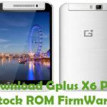 Gplus X6 Plus Firmware