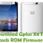 Gplus X6 Pro Frimware