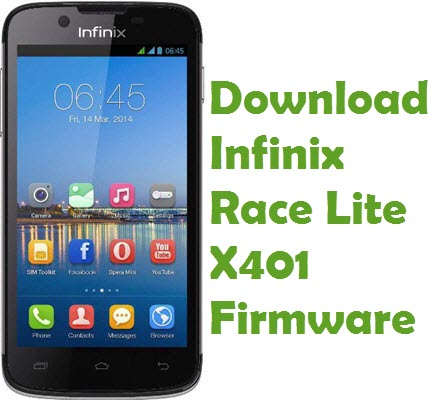 Infinix Race Lite X401 firmware