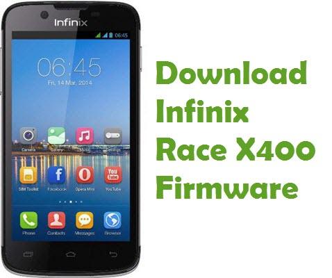 Infinix Race X400 firmware