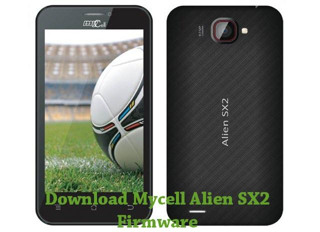 Mycell Alien SX2 Firmware