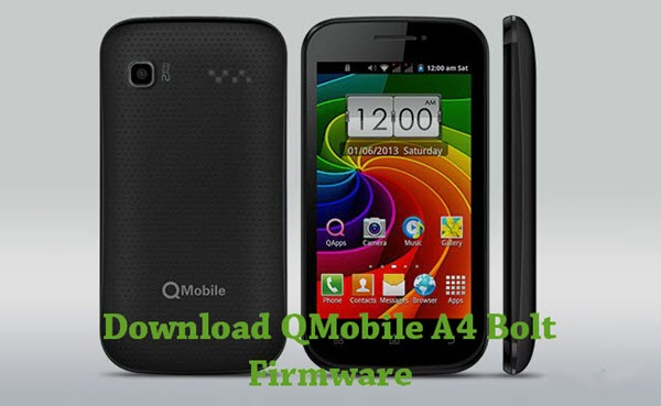QMobile A4 Bolt Firmware