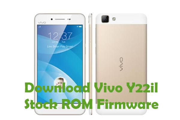Vivo Y22il Firmware