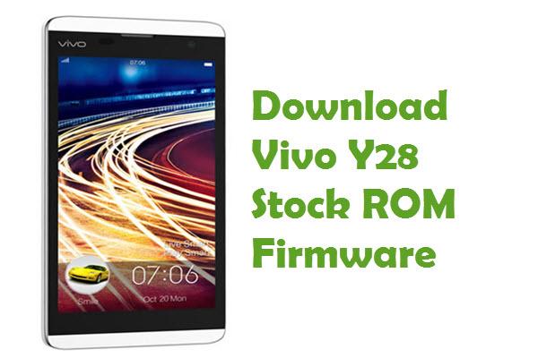 vivo-y28-firmware