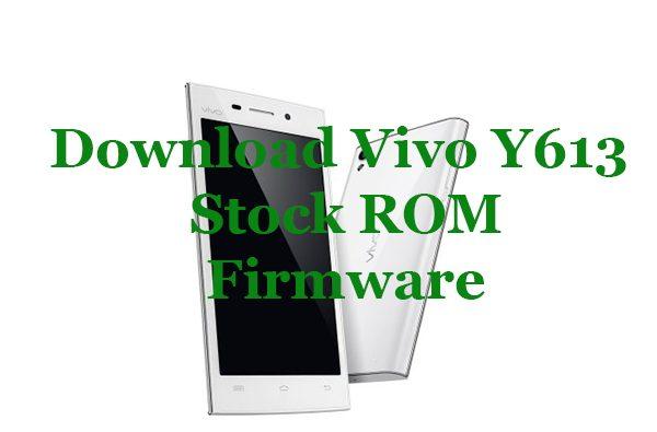 vivo y613 firmware