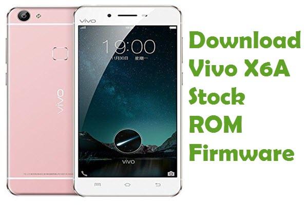 vivo-x6a-firmware