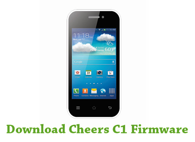 Download Cheers C1 Firmware