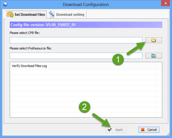 Download Configuration YGDP Tool
