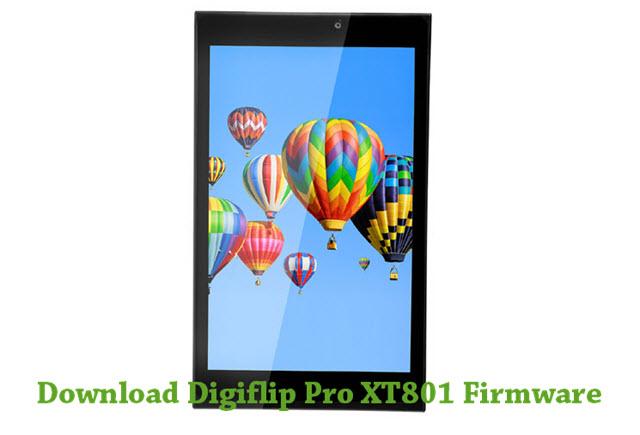 Download Digiflip Pro XT801 Firmware