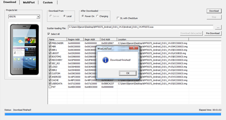 Download Finished Wiselink Tool