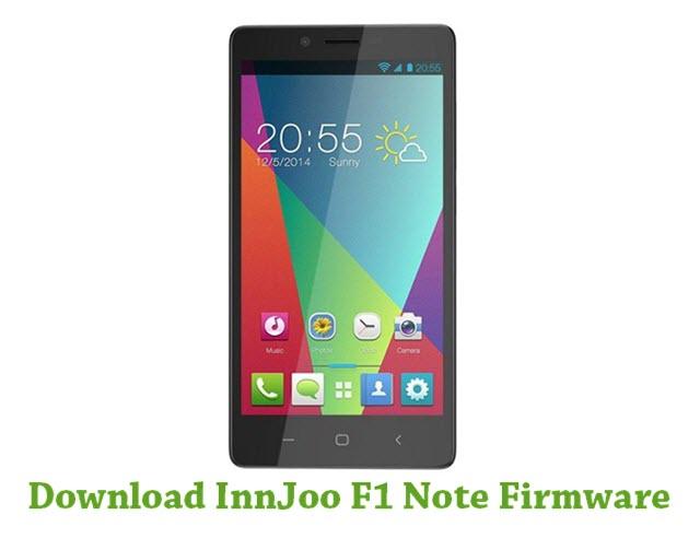 Download Innjoo F1 Note Firmware