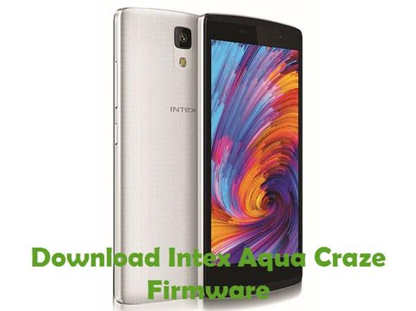 Download Intex Aqua Craze Firmware