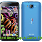 Intex Aqua Curve Firmware