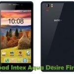 Intex Aqua Desire Firmware