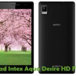 Intex Aqua Desire HD Firmware