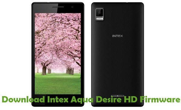 Download Intex Aqua Desire HD Firmware