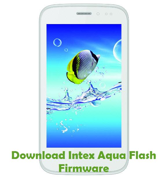 Download Intex Aqua Flash Firmware