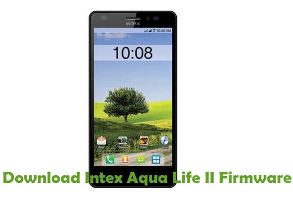 Download Intex Aqua Life II Firmware