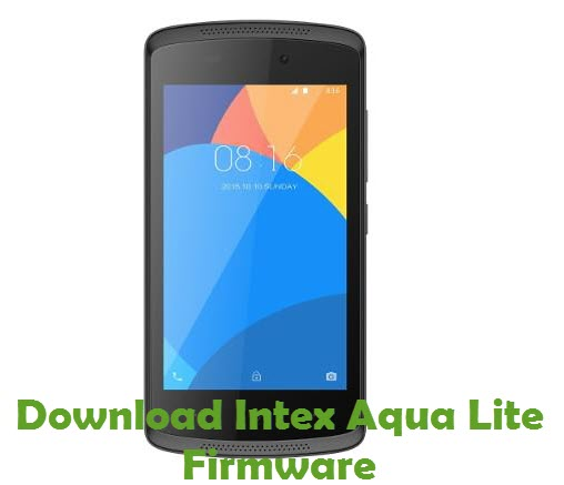 Download Intex Aqua Lite Firmware