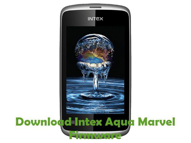 Download Intex Aqua Marvel Firmware