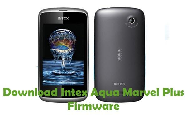 Download Intex Aqua Marvel Plus Firmware