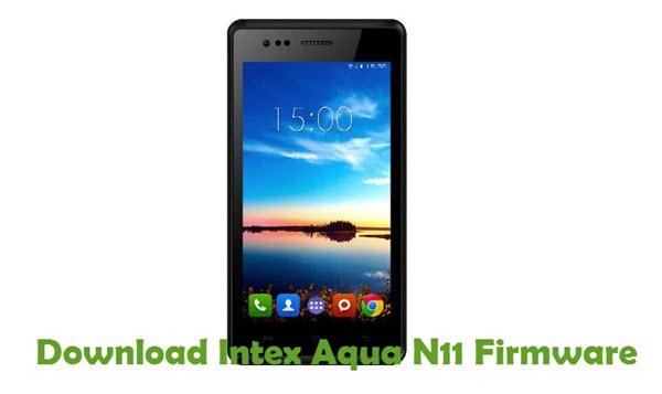 Download Intex Aqua N11 Firmware