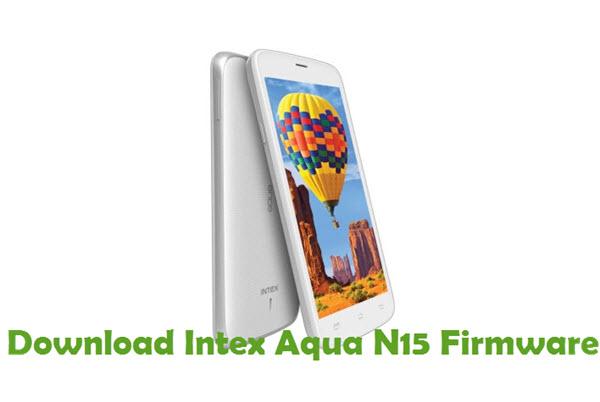 Download Intex Aqua N15 Firmware