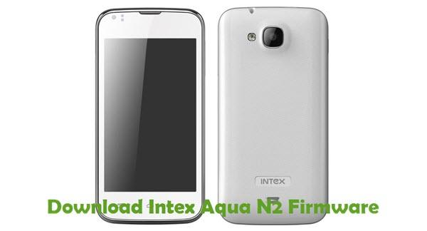 Download Intex Aqua N2 Firmware