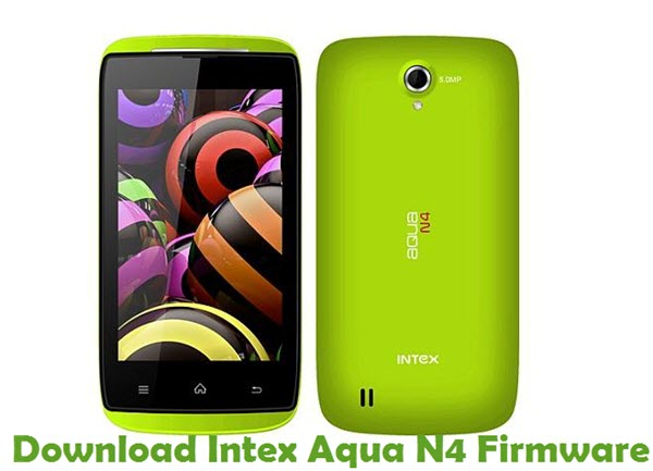 Download Intex Aqua N4 Firmware