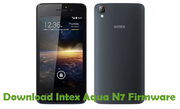 Download Intex Aqua N7 Firmware