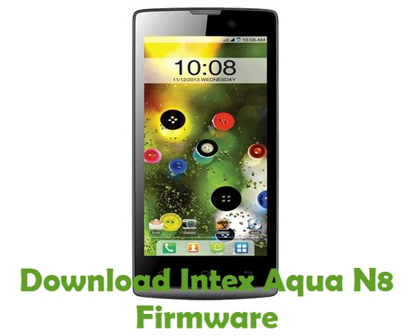 Download Intex Aqua N8 Firmware