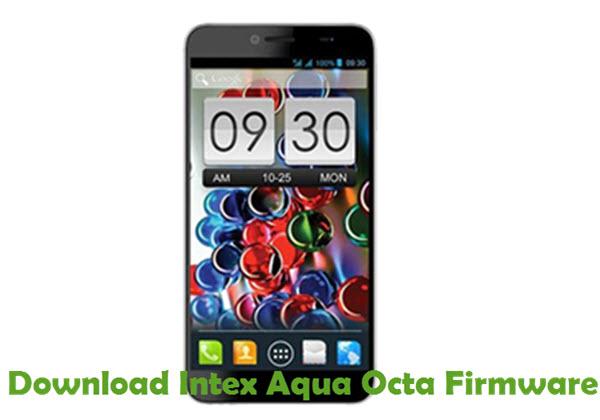 Download Intex Aqua Octa Firmware