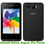 Intex Aqua P3 Firmware