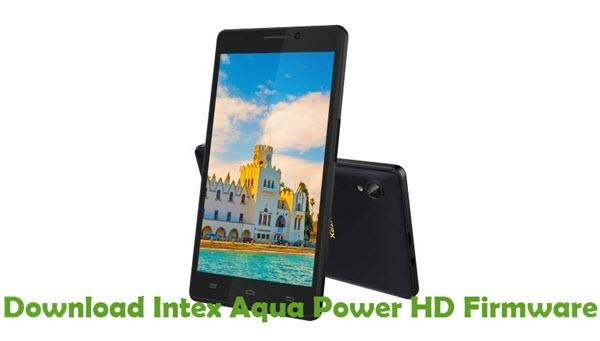 Download Intex Aqua Power HD Firmware