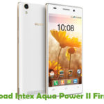 Intex Aqua Power II Firmware