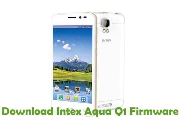 Download Intex Aqua Q1 Firmware