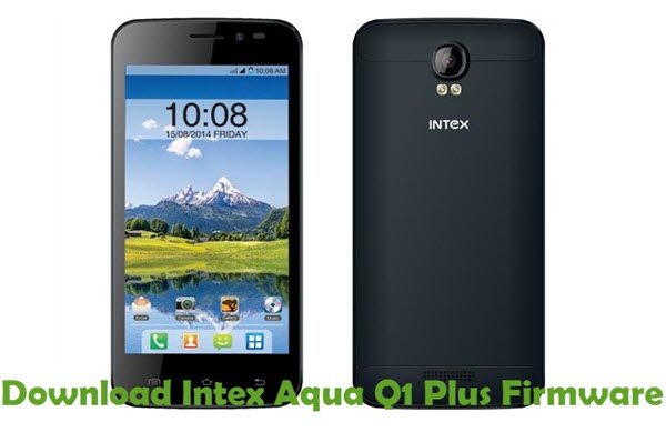 Download Intex Aqua Q1 Plus Firmware