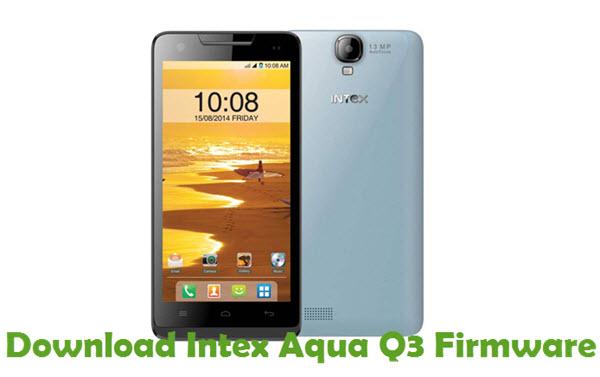 Download Intex Aqua Q3 Firmware