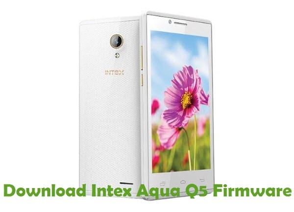 Download Intex Aqua Q5 Firmware