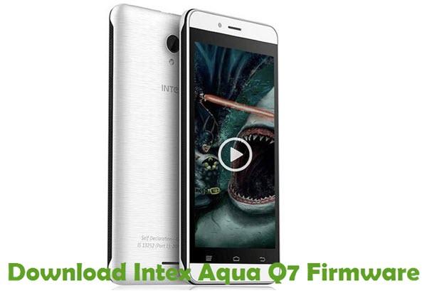 Download Intex Aqua Q7 Firmware